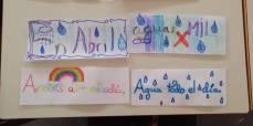 preciosos refranes de l@s niñ@s del Lourdes