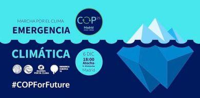 COP 25 Marcha por el clima